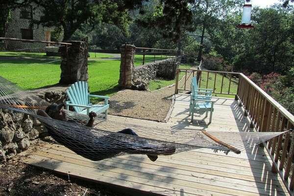 Circle H Lodge in Leakey Average rate: $624/night Sleeps: 15 5 bedrooms; 2 bathrooms.