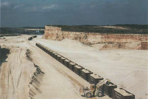 In 1985, the land that would eventually become Six Flags Fiesta Texas was nothing but rock and was known as the Redland Quarry.