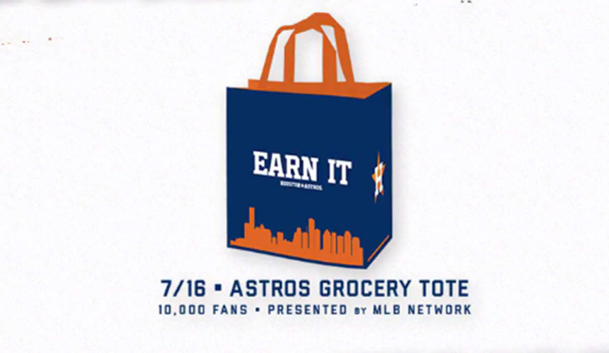 HOUSTON ASTROS PROMOTIONAL SCHEDULE Astros Grocery Tote (First 10,000 fans) Presented by Houston Methodist Sunday, July 16 vs. Twins