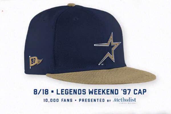 Houston Astros promotional schedule: Legends weekend cap