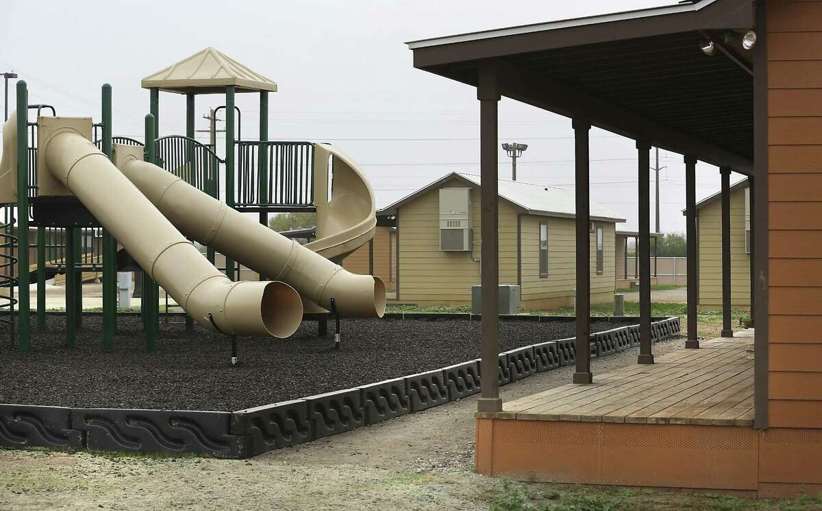 Secretary of Homeland Security Jeh Johnson toured the new South Texas Family Residential Center, just outside Dilley, Texas. Detained immigrants that are currently being held in Artesia will begin arriving at the Dilley facility within the next two weeks. Monday, Dec. 15, 2014. This pictured facility, which was a