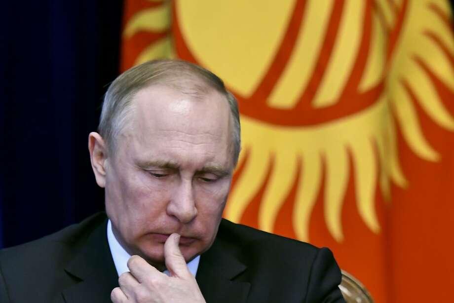 Russian President Vladimir Putin has dismantled checks on his power. Photo: Vladimir Voronin, Associated Press