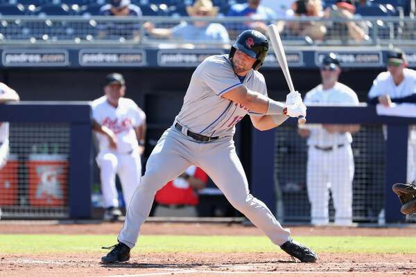 FILE — Tim Tebow #15 (New York Mets) of the Scottsdale Scorpions bats against the Peoria Javelinas during the Arizona Fall League game at Peoria Stadium on October 13, 2016 in Peoria, Arizona.  (Photo by Christian Petersen/Getty Images)