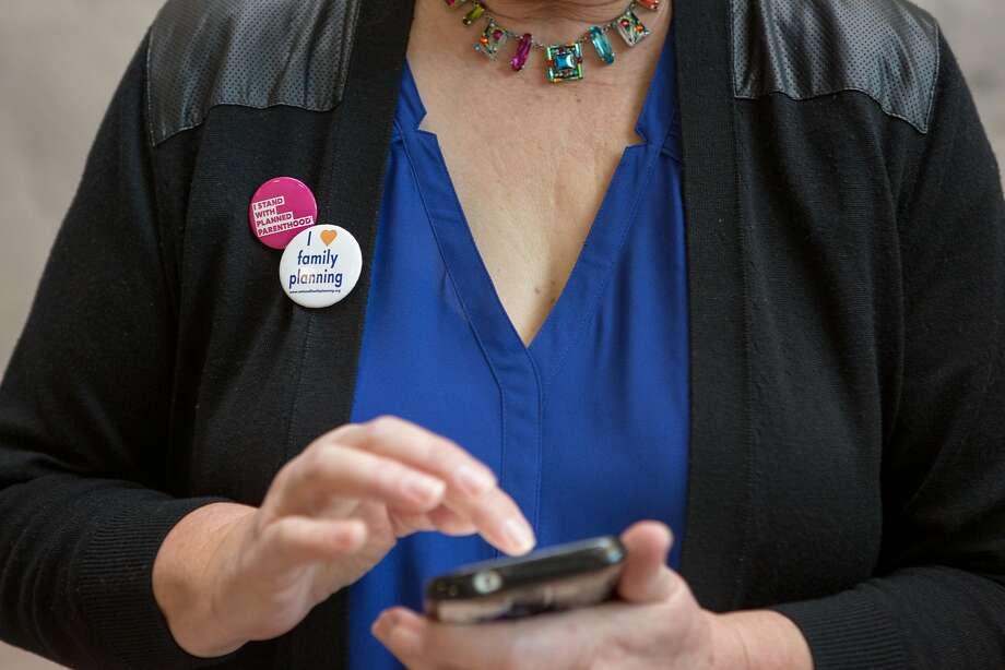 Berkeley can require retailers to warn their cell phone customers about the possible radiation effects of carrying switched-on phones close to their bodies. Photo: Allison Shelley, Special To The Chronicle