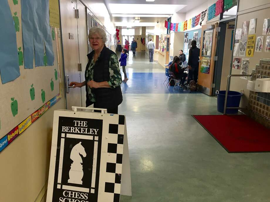Elizabeth Shaughnessy, founder of the Berkeley Chess Club, ran the first ever All Girls, Age-Level State Chess Championship Tournament on Saturday, March 4. Photo: Beth Spotswood