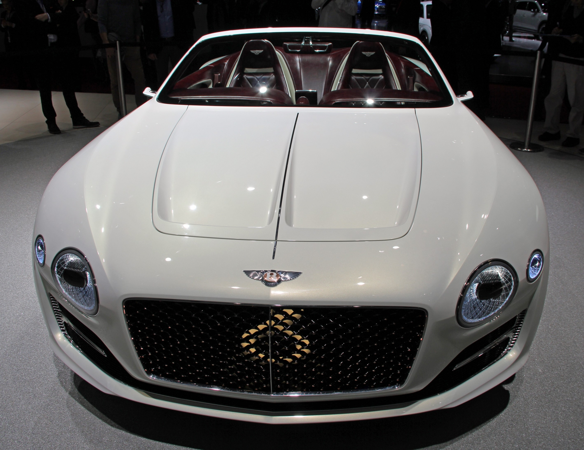 Bentley reveals luxury electric car for those who find Tesla too low-rent
