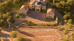 Celebrity couple David Draiman of the rock bands Disturbed and Device, and wife Lena Yada of WWE Diva fame, are selling their castle-like home in Austin, Texas.