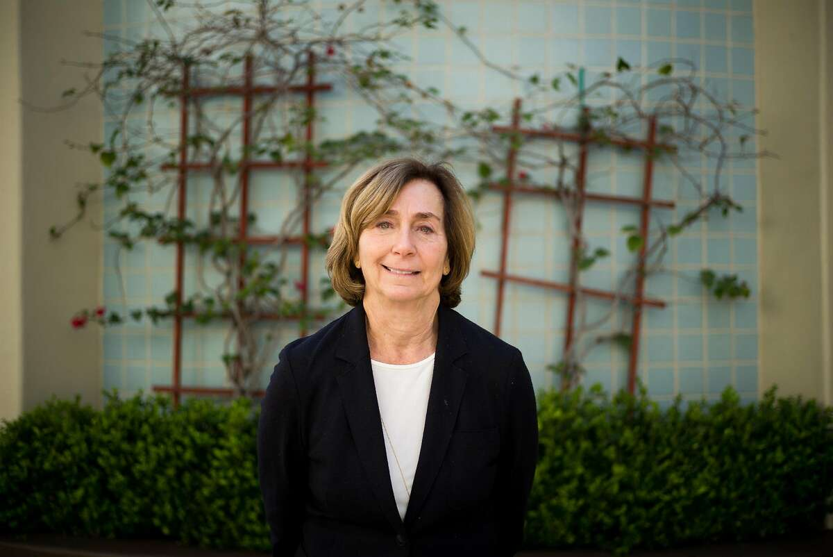 Ann Ravel, former head of the Federal Election Commission poses for a photograph in Palo Alto, Calif. on Wednesday, March 8, 2017. She was appointed by Obama to then position but quit, frustrated with its gridlock.