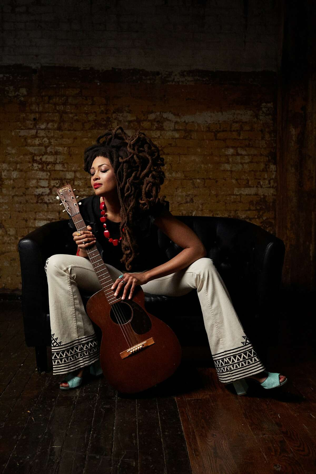 Musician Valerie June photographed by Danny Clinch