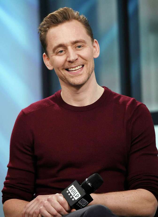 """Actor Tom Hiddleston participates in the BUILD Speaker Series to discuss the film """"Kong: Skull Island"""" at AOL Studios on Monday, March 6, 2017, in New York. (Photo by Evan Agostini/Invision/AP) ORG XMIT: NYEA107 Photo: Evan Agostini / 2017 Invision"""