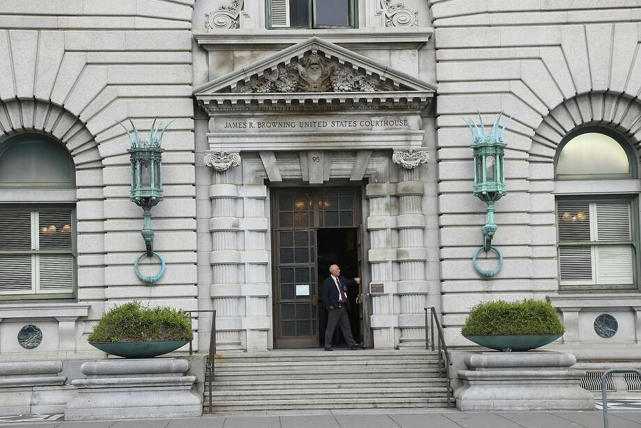 FILE -- The United States Court of Appeals for the Ninth Circuit in San Francisco, Feb. 10, 2017. The Justice Department said that it would continue to defend President Donald Trump�s travel ban in the federal appeals court in San Francisco, which on Thursday had refused to reinstate it. (Jim Wilson/The New York Times) Photo: JIM WILSON, NYT