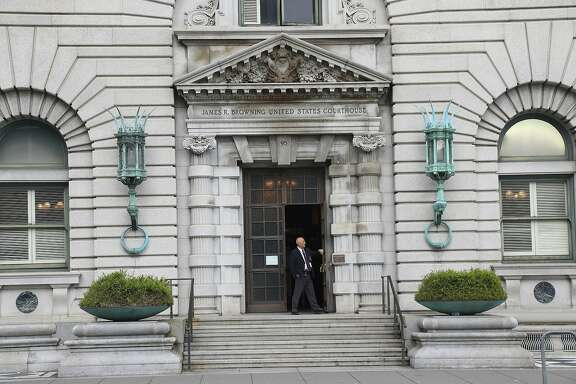 FILE -- The United States Court of Appeals for the Ninth Circuit in San Francisco, Feb. 10, 2017. The Justice Department said that it would continue to defend President Donald Trump�s travel ban in the federal appeals court in San Francisco, which on Thursday had refused to reinstate it. (Jim Wilson/The New York Times)