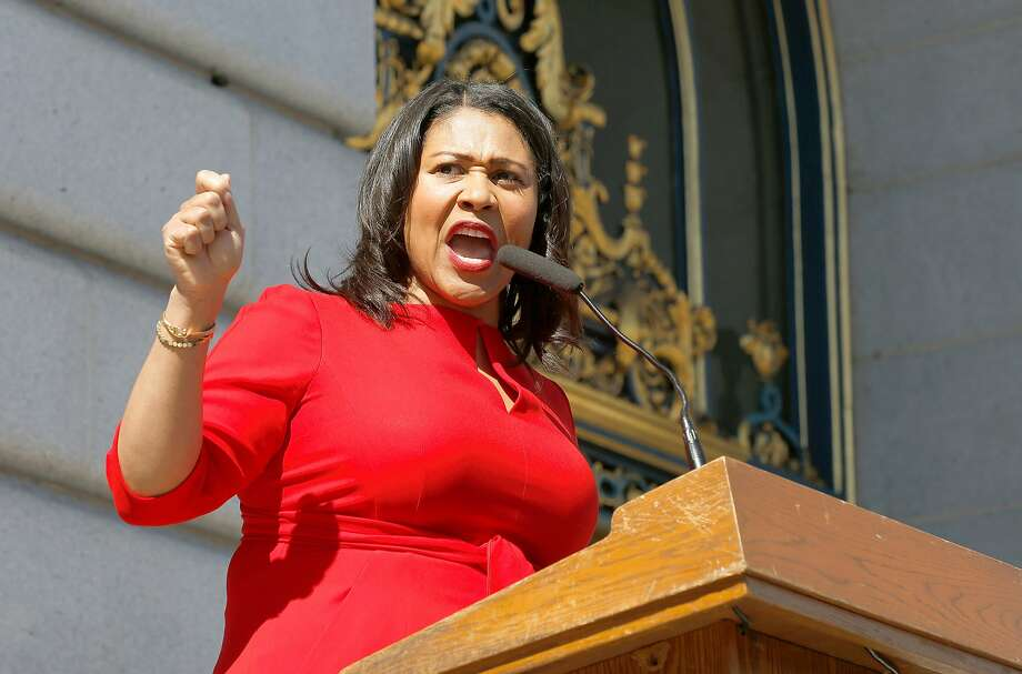 Board of Supervisors President London Breed is among city officials who are the subject of complaints about their use of social media. Photo: Liz Hafalia, The Chronicle