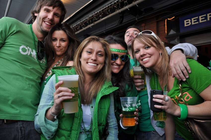 How do you plan on celebrating St. Patrick's Day 2017? Drinks and friends: 44 percent survey participantsParty 'til we drop: 15 percent survey participantsSource: Drizly
