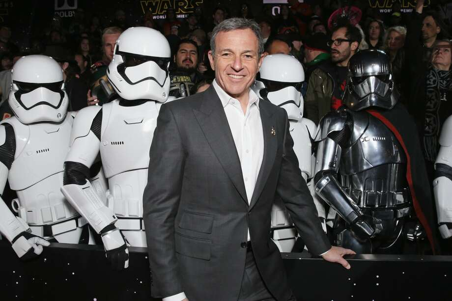 """FILE — Chairman and CEO, The Walt Disney Company Bob Iger attends the Premiere of Walt Disney Pictures and Lucasfilm's """"Star Wars: The Force Awakens"""" on December 14, 2015 in Hollywood. Photo: Todd Williamson/Getty Images"""