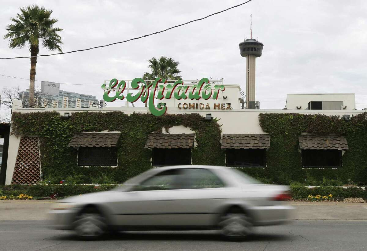 El Mirador, the 50-year-old Tex-Mex restaurant on South St. Mary's Street, has been sold and will serve its last meal Nov. 18.