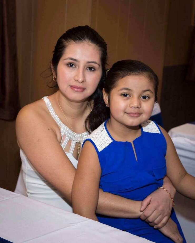 Nidia Gonzalez and her daughter Aylin Sofia Hernandez. Ms Gonzalez was killed in her home in Bridgeport, Conn. on Friday, Feb. 24, 2017. Her brother, Jorge Luis Gonzalez Pinto, has started a gofundme page to help the family arrange a funeral to send her body to rest in peace in their home country, Guatemala. Photo: Contributed Photo / Connecticut Post Contributed
