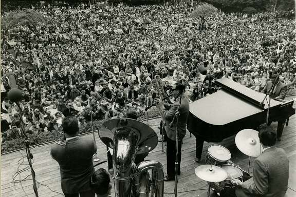 Turk Murphy Jazz Band at Stern Grove, in San Francisco, on August 3, 1967.