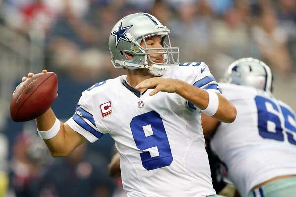 Dallas quarterback Tony Romo, who will be released by the Cowboys on Thursday, has only started four games the past two seasons because of injuries.