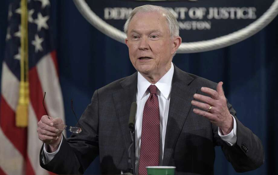 Following reports that he did not disclose his contacts with a Russian official during the presidential campaign, Attorney General Jeff Sessions recuses himself from any federal investigation into Russian interference in the 2016 presidential election. A reader says the controversy reflects the lack of honesty in the Donald Trump adminstration. Photo: Susan Walsh /Associated Press / Copyright 2017 The Associated Press. All rights reserved.