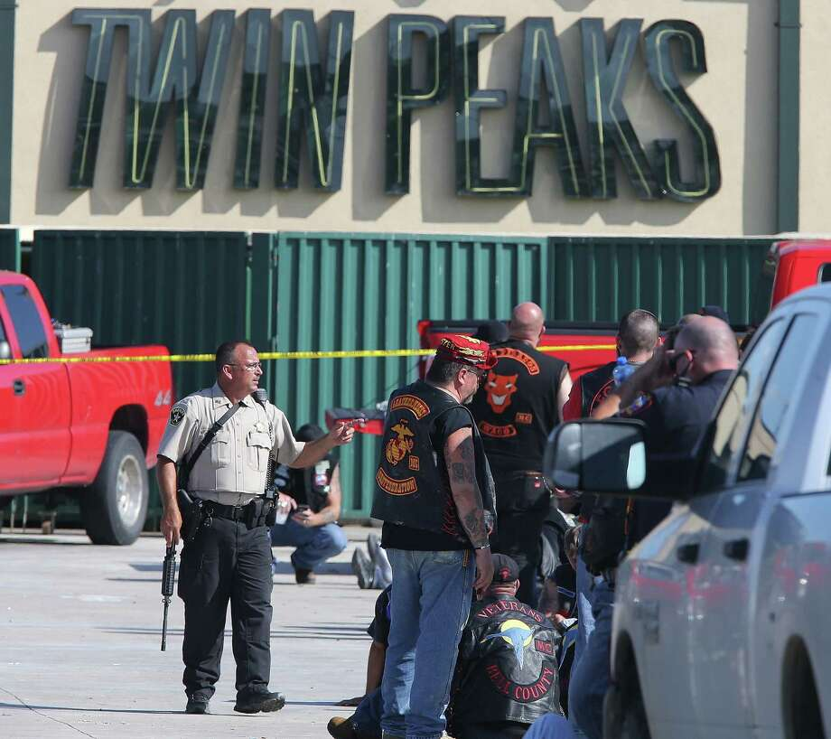 A shootout between motorcycle gangs at a Twin Peaks restaurant in Waco in May 2016 resulted in nine deaths and 177 arrests.Keep going for a look at what you need to know about the Bandidos motorcycle gang that was at the heart of the Twin Peaks shootout. Photo: Jerry Larson, FRE / FR91203 AP