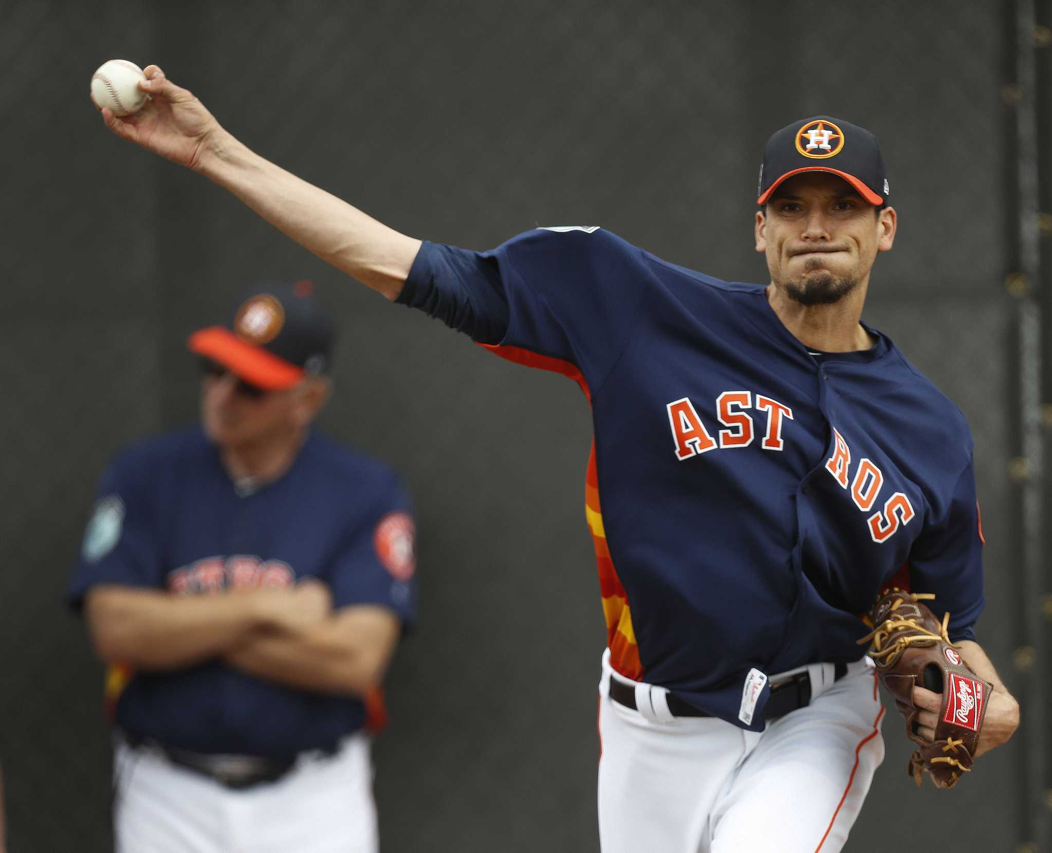 charlie morton astros houston pitcher extra eager zip warren karen staff photographer outing inning solid fastball sustainable