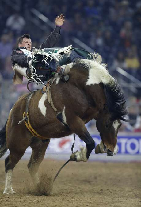 Champion says it's best not to think when he's competing in the ring. Just react, and be aggressive. Photo: Karen Warren/Houston Chronicle