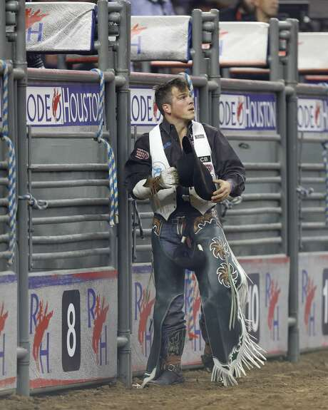 During the opening week of RodeoHouston, Champion did well enough to earn the chance to come back for the semifinals on Wednesday, March 22. Photo: Karen Warren/Houston Chronicle