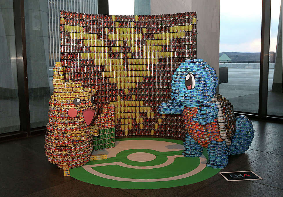Were you Seen at the 7th Annual Capital Region CANstruction opening celebration and awards reception at the New York State Museum in Albany on Wednesday, March 8, 2017? CANstruction is a competition where architects, engineers and contractors build 10'x10'x8' tall structures made entirely of canned goods to benefit the Food Pantries for the Capital Region.