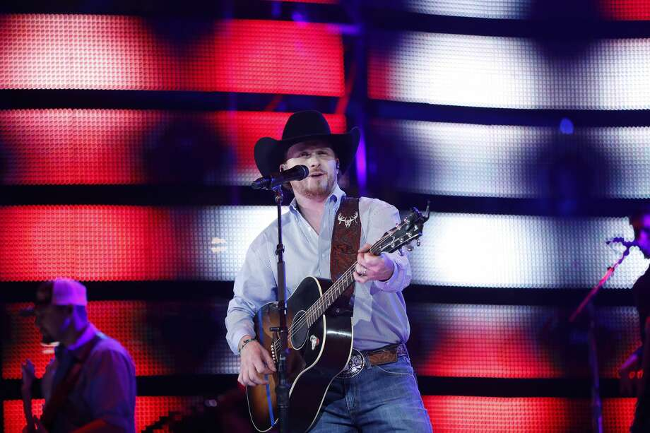 Cody Johnson performs at the Houston Livestock Show and Rodeo, at NRG Park, Wednesday, March 8, 2017, in Houston.  ( Karen Warren / Houston Chronicle ) Photo: Karen Warren/Houston Chronicle