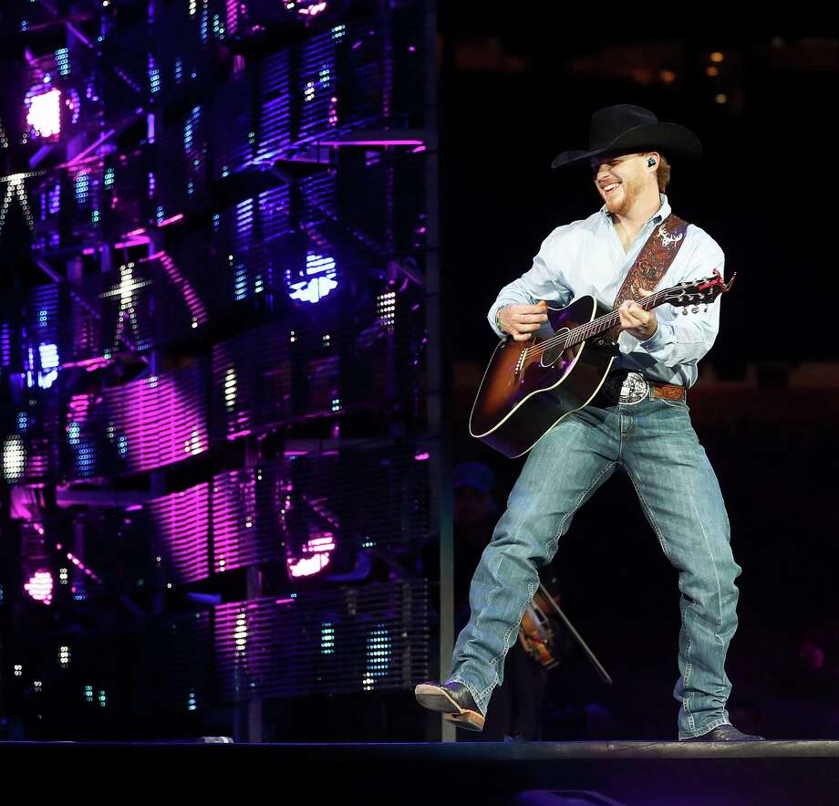Cody Johnson   performs at the Houston Livestock Show and Rodeo, at NRG Park, Wednesday, March 8, 2017, in Houston.  ( Karen Warren / Houston Chronicle ) Photo: Karen Warren, Staff Photographer / 2017 Houston Chronicle