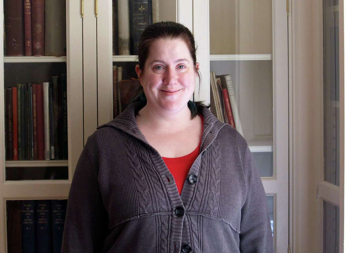 Teen Librarian Nicole Scherer at the Fairfield Public Library in Fairfield, Conn. March 8, 2017.