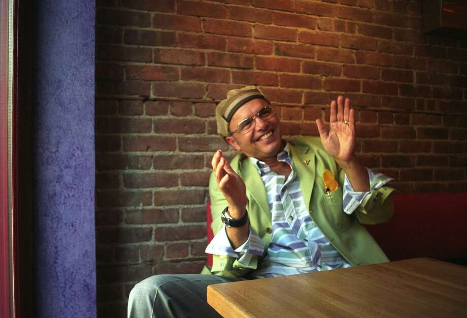 "File  9.09.02 : Actor Joey Pantoliano from the hit series ""The Sopranos"", will open a new restaurant in South Norwalk.  The Bamboo Cafe, featuring an ""asian confusion"" cuisine opens thursday, September 11. Photo: JEFF BRUSH File Photo / JEFF BRUSH / Connecticut Post file photo"