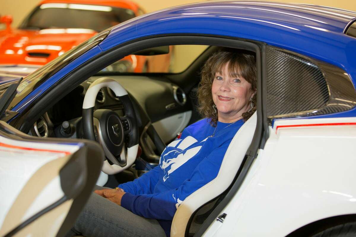 Wayne and D'Ann Rauh of Arp, Texas, own 80 Dodge Vipers and are slated to purchase the last one that comes off the assembly line in August 2017.