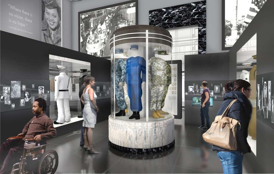 A concept drawing of the makeover planned for Soldiers Memorial Military Museum. Photo: For The Edge