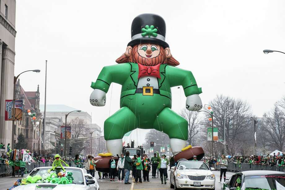 A scene from a previous St Patrick's Day parade in St. Louis. Photo: For The Edge