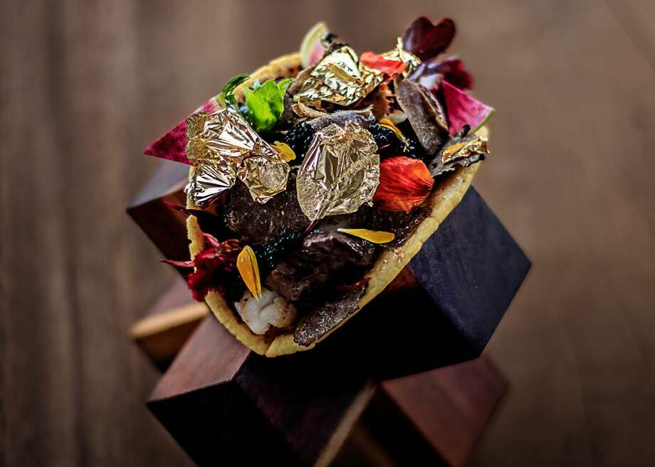 This is the $25,000 taco served at a resort in Cabo.>>Click to see Houston's best tacos.