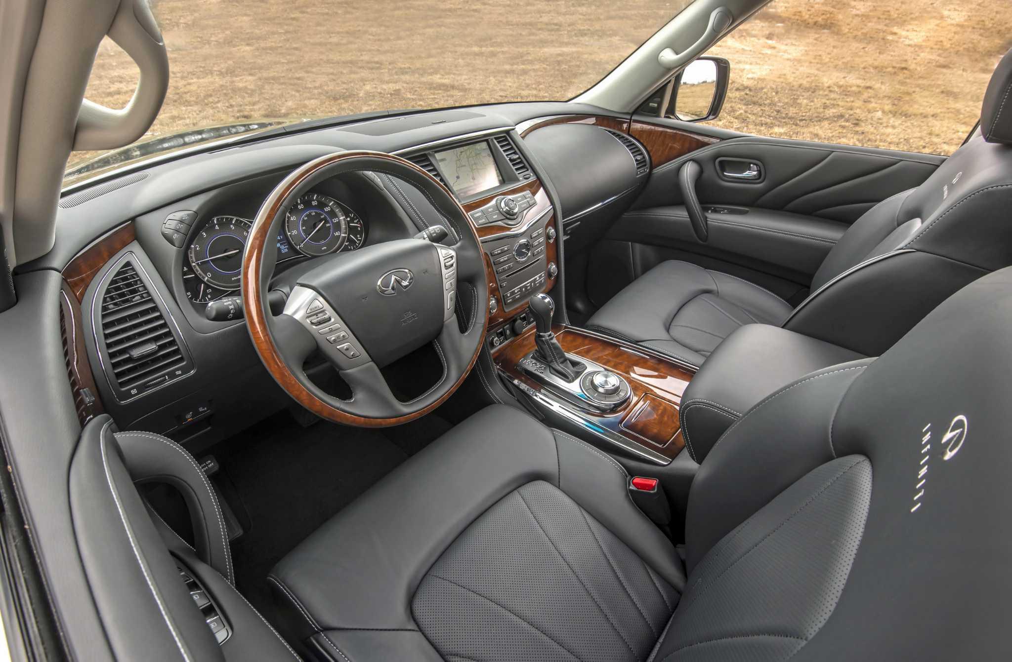 Infiniti's QX80 full-size luxury SUV exudes elegance