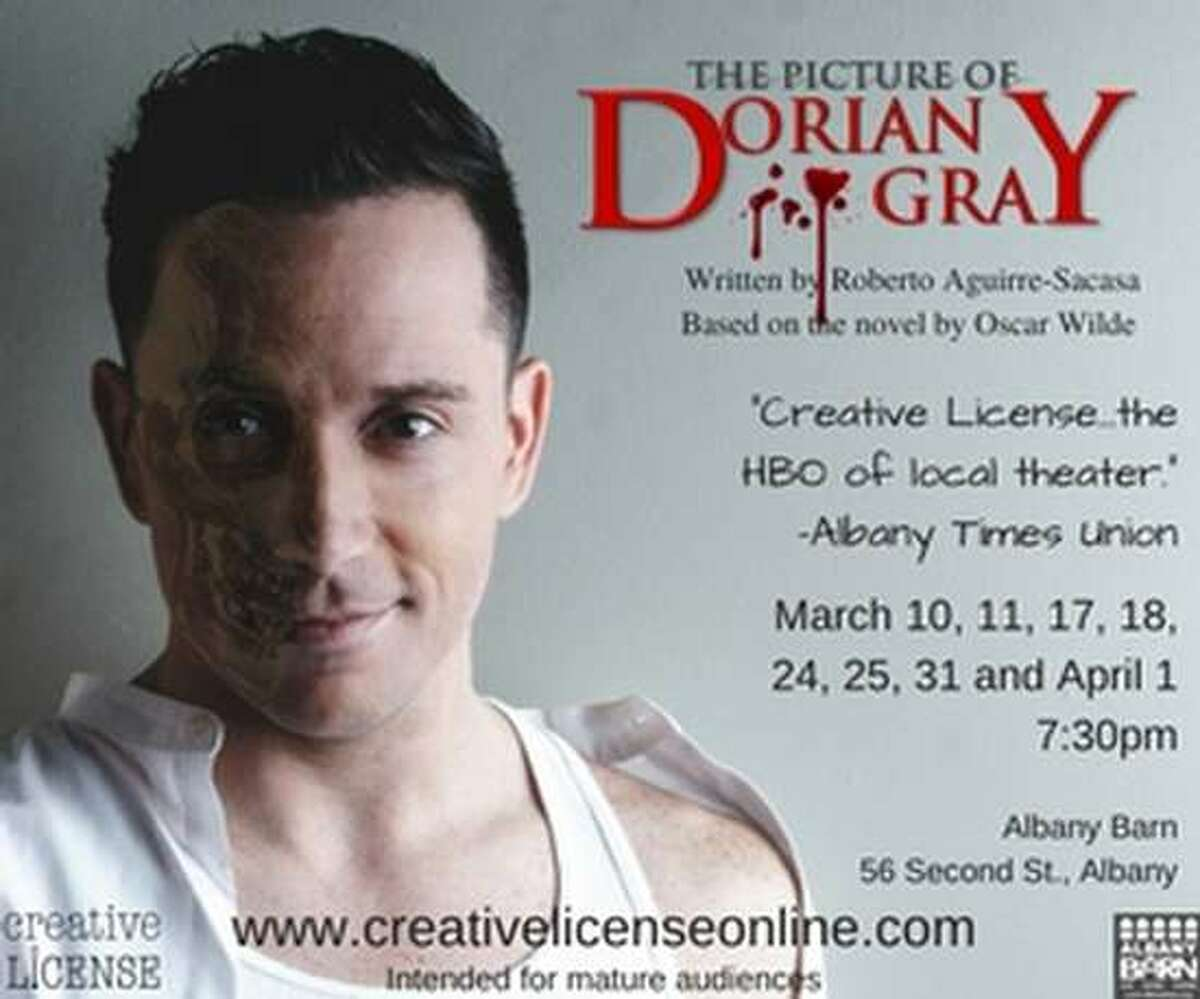 The Picture of Dorian Gray. Oscar Wilde's Faustian tale of a young man who sells his soul for eternal youth is updated as a bold, stylish, and bloody contemporary thriller. When: Friday, March 10 and Saturday, March 11, 7:30 - 10 PM. Where: Albany Barn, 56 Second St., Albany. For tickets and more information, visit the website.