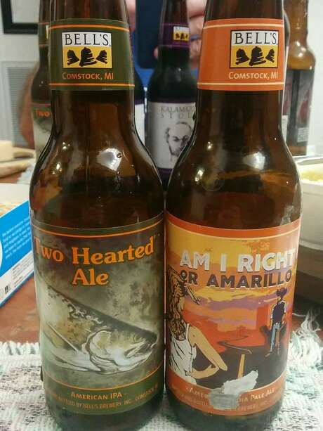 Bell's Brewery is debuting in the San Antonio area with two IPAs. The Two Hearted Ale is a classic American-style IPA, and the Am I Right or Amarillo is a special release made for its debut in the Texas market. Photo: Markus Haas /San Antonio Express-News / San Antonio Express-News
