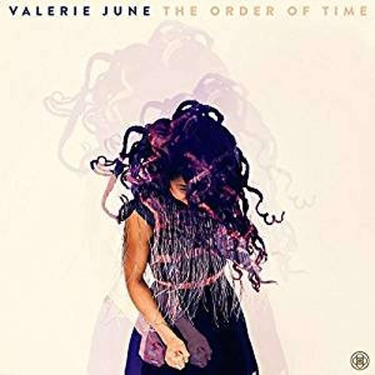 """cd cover: """"The Order of Time"""" by Valerie June"""