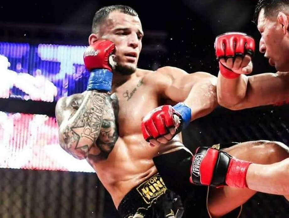 San Antonio's Ray Rodriguez fights in a Legacy Fighting Alliance bout in 2017/ Photo: Courtesy Photo