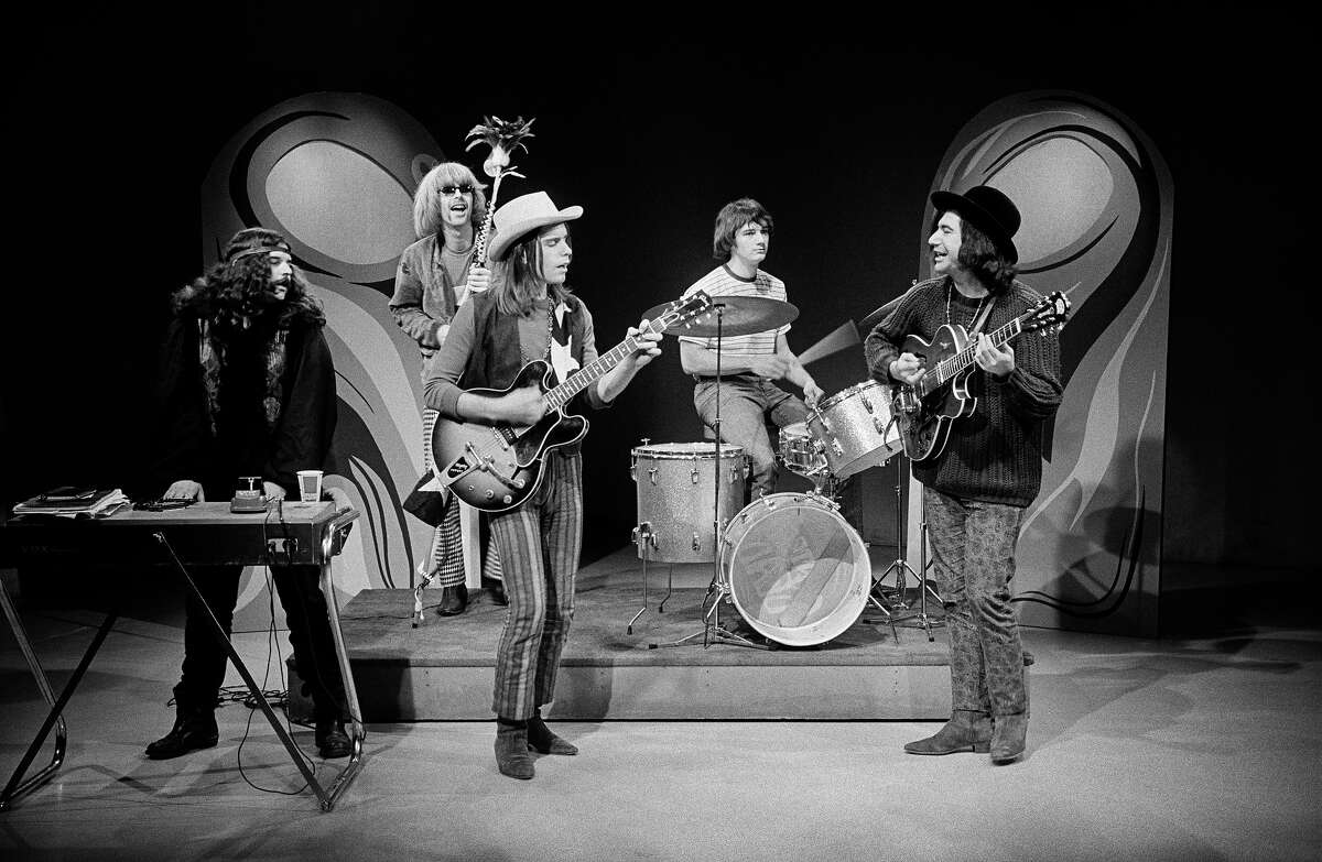 The Grateful Dead lip syncing for local cable access TV, 1967