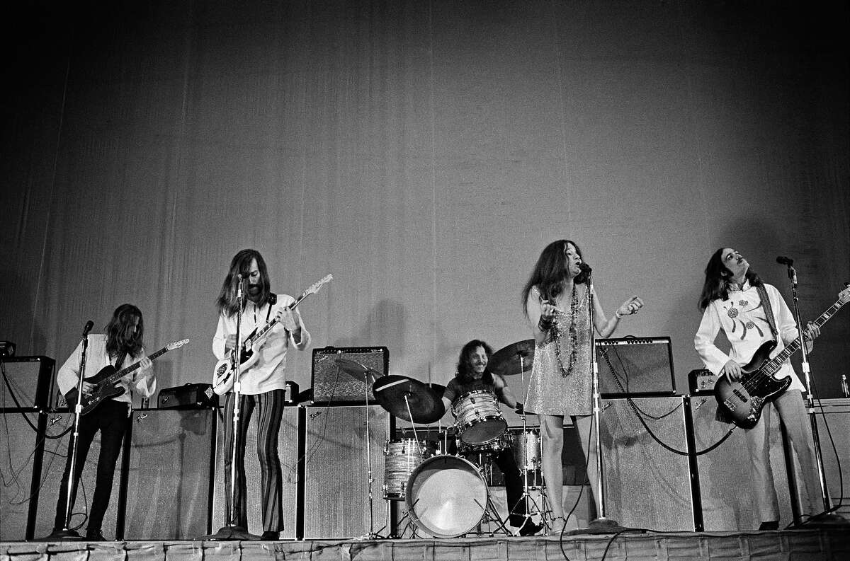 Big Brother and the holding company with Janis Joplin at Winterland, 1967