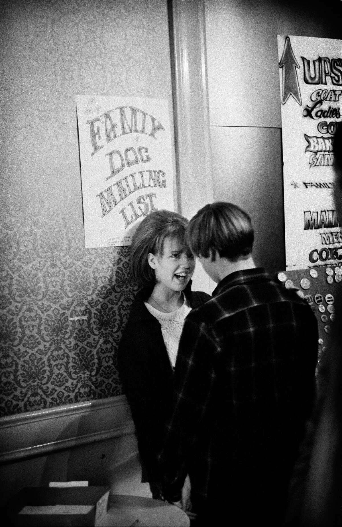 A couple at the Fillmore, 1967