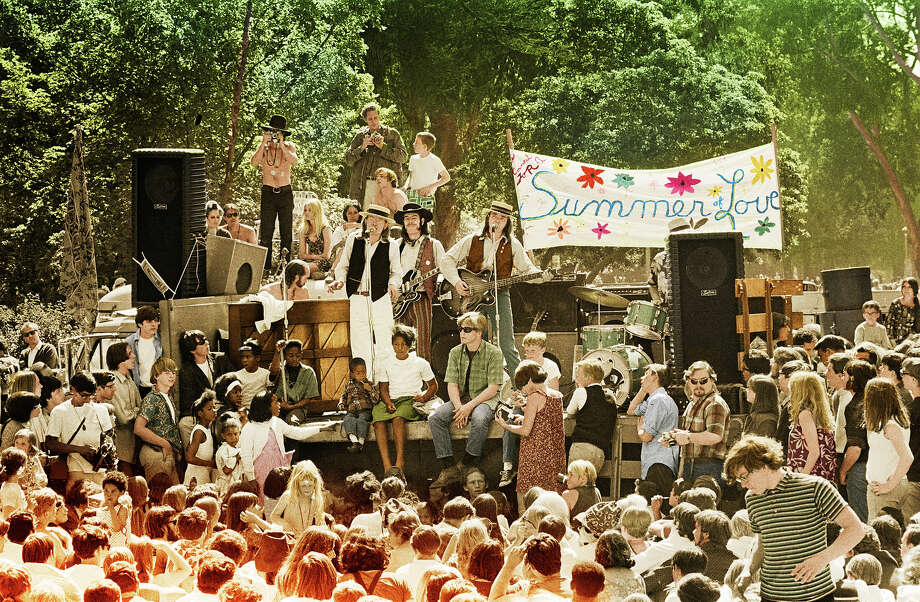 The Charlatans playing in Golden Gate Park in June, 1967 Photo: Jim Marshall LLC/© Jim Marshall Photography LLC