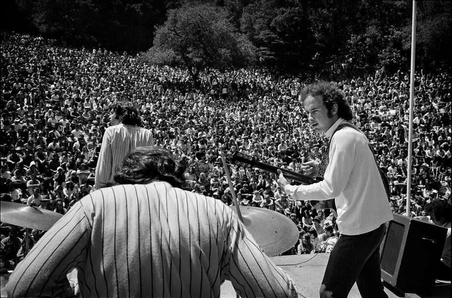 The Doors perform at the Magic Mountain Music Festival on Mt. Tam, 1967 Photo: © Jim Marshall Photography LLC