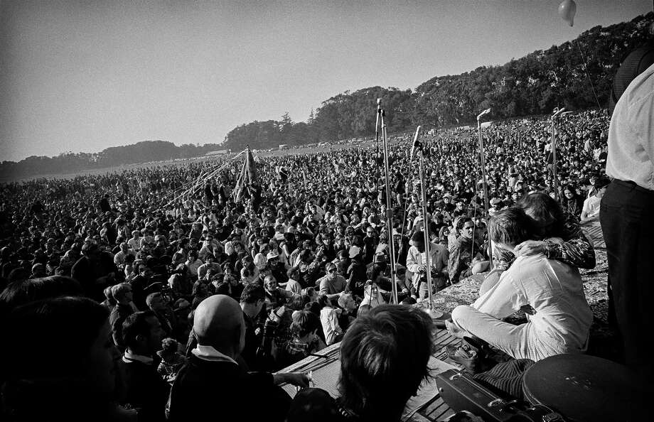 The Human Be-In at the Polo Fields in Golden Gate Park in 1967. Photo: © Jim Marshall Photography LLC