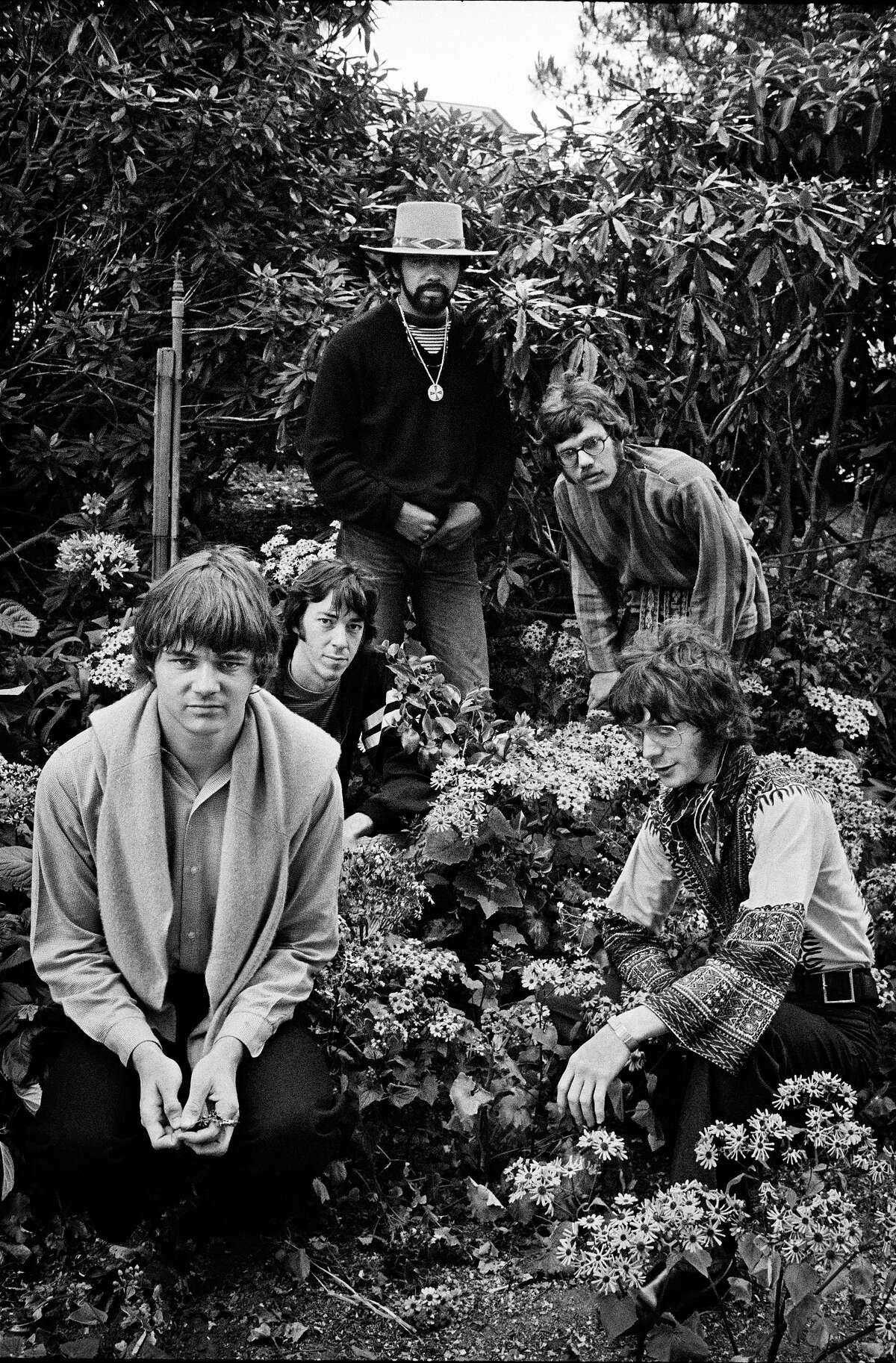 Steve Miller Band in The Botanical Gardens Golden Gate Park, 1967