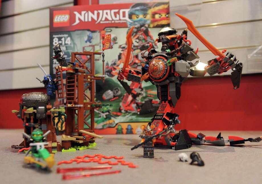 Last year's best-selling items included the Lego Ninjago and Lego Friends building bloc sets, CEO Bali Padda says. Photo: Diane Bondareff /Associated Press / FR81453 AP